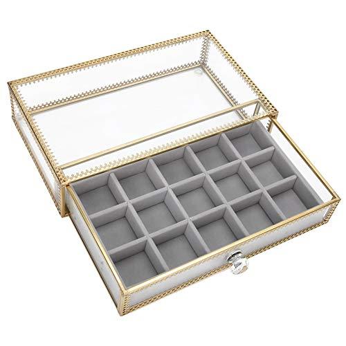 Caja de almacenamiento de caja de uñas de dedo Cajón Caja de herramientas de arte de uñas Caja de almacenamiento de decoración de uñas Caja de almacenamiento Organizador de decoración de