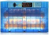 MxZas 128 Eier Inkubator LED Zeigt Temperatursteuerung Automatisches Drehen mit leichten...