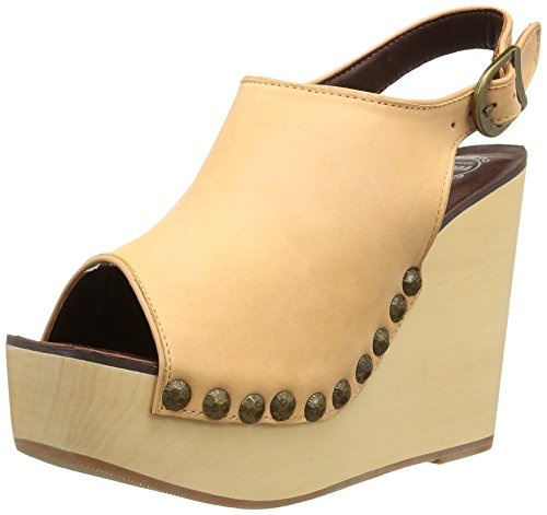 Jeffrey Campbell - Snick Leather - Sabots, nude, taille 41