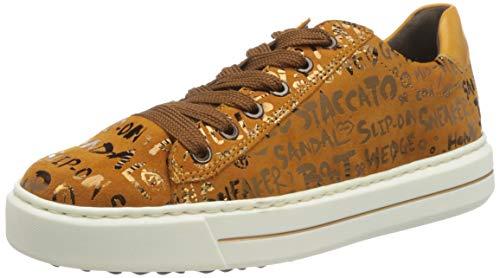ARA Damen Courtyard Sneaker, Curry-Bronce,Curry, 36.5 EU