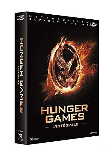 Hunger games l'intégrale 4 films ; hunger games ; l'embrasement ; la révolte, parties 1 et 2 [FR Import]