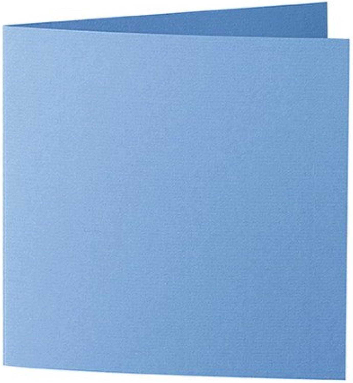 50 Stück      Artoz Serie 1001 Doppelkarten gerippt    Quadratisch, 260 x 130mm, hochwertig, marineblau B002JJ7F8U   Primäre Qualität  fda788
