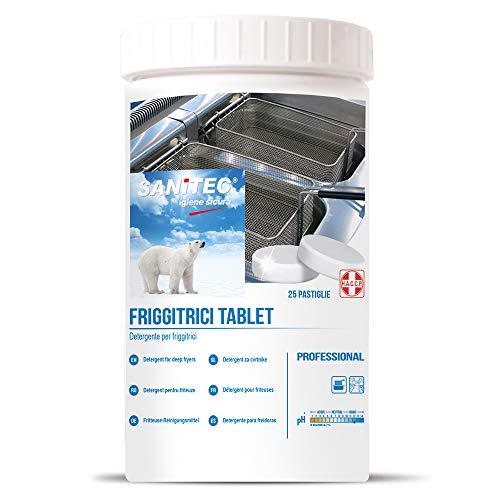 Friggitrici Tablet - Pastiglie per la Pulizia di Friggitrici Professionali e Superfici in Acciaio