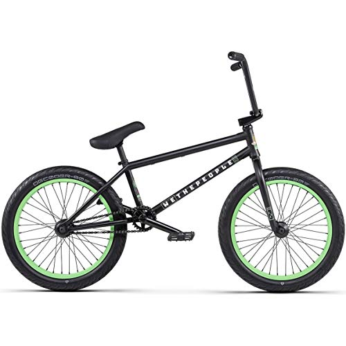 Wethepeople Trust 2020 BMX Rad - Matt Black | matt-schwarz | 21.0