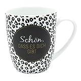 Dekohelden24 Taza de café de Porcelana, 9,8 x 8,2 cm, 250 ml, Apta para lavavajillas, Taza de café