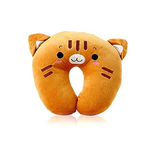 Almohada de Cuello Lindo diseño Animal con Forma de U Pillow Encantador de Peluche Pillow Pillow Soft Sport Soporte Almohada