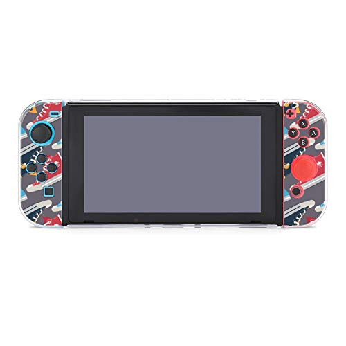 Funda protectora de PC antiarañazos para Nintendo Switch compatible con Switch y...