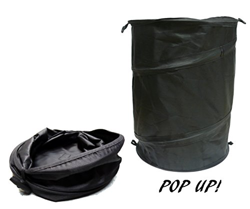 XtremeAuto© LARGE, IN CAR, POP UP WASTE BIN (COLLAPSIBLE)....