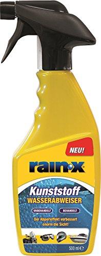 ORIGINAL Rain-X/RainX 500ML Wasserabweiser KUNSTSTOFF Auto/MOTORRAD/Boot **NEU**