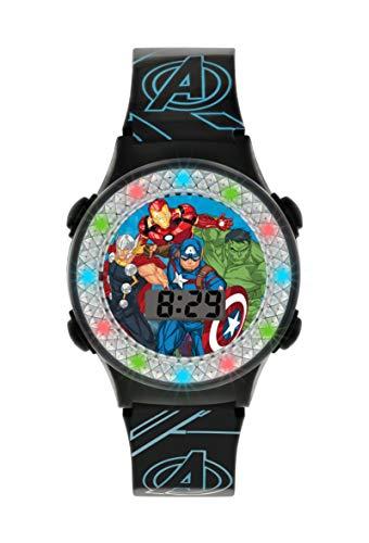 Avengers AVG4607 Digitale Quarzuhr für Jungen mit Kunstharz-Armband