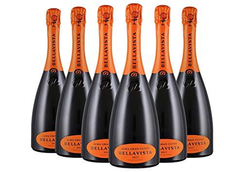 Franciacorta DOCG Alma Gran Cuvée box da 6 bottiglie Bellavista 0,75 L