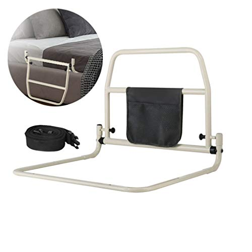 LHNLY-Handlauf Bettgitter haltegriff Bett zum aufstehen - Faltbar Bettgitter für Erwachsene Senioren - Aufstehhilfe für Bett mit Lattenrost Bettgalgen Bettgeländer Einstiegshilfe
