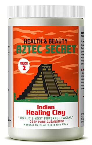 Aztec Secret – Indian Healing Clay 1 lb – Deep Pore Cleansing Facial & Body Mask