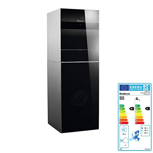 Buderus Sole Wasser Wärmepumpe WSW196i-12 T190 Erdwärmepumpe Warmwasserspeicher