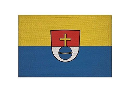 U24 Aufnäher Schwabmünchen Fahne Flagge Aufbügler Patch 9 x 6 cm