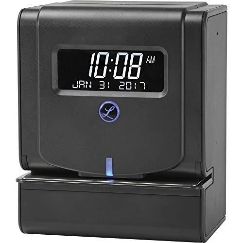 Lathem Horloge thermique résistante sans entretien (2100HD) Noir 24,9 x 15,2 x 20,3 cm