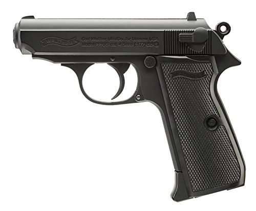 Umarex Walther Legends PPK/S .177 Caliber BB Gun Air Pistol, Black (2230163)