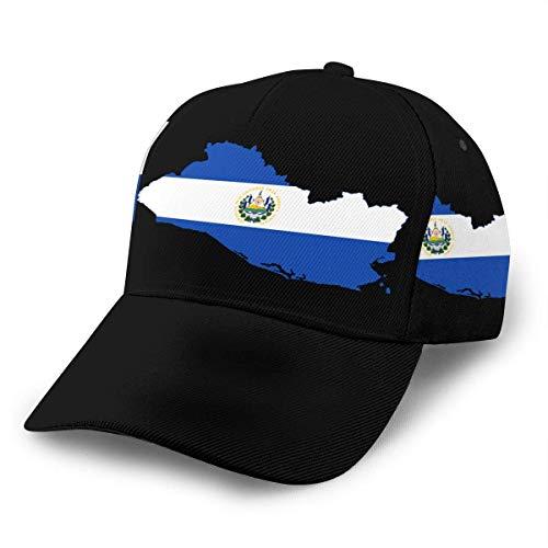 Sombrero Strapback Mapa De La Bandera De El Salvador Snapback Gorra De Camionero Unisex Senderismo Gorra De Papá Sombreros Bonitos Hip Hop Retro Unisex Verano Impresión Gorra De Bé