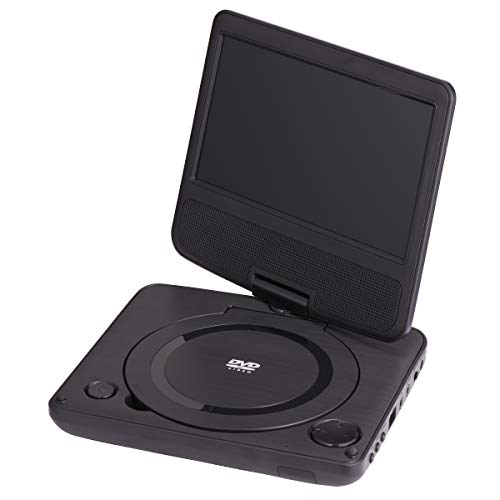 "ONN ONA19DP006 Swivel Portable DVD Player Kit, 7"""