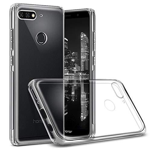 Klar Hülle für Huawei Honor 7C | TPU Hülle | Silikon Cover | Transparent Hülle