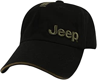 Jeep Black and Olive Cap