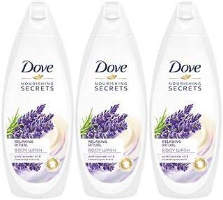 Dove Relaxing Ritual, Lavender Oil & Rosemary Body Wash - 3 Packs x 16.9 Fl.Oz / 500ml Ea