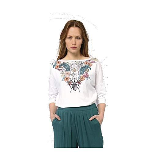 Skunkfunk -  Felpa  - Donna bianco 40