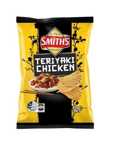 Smiths Crinkle Teriyaki Chicken 45g x 18