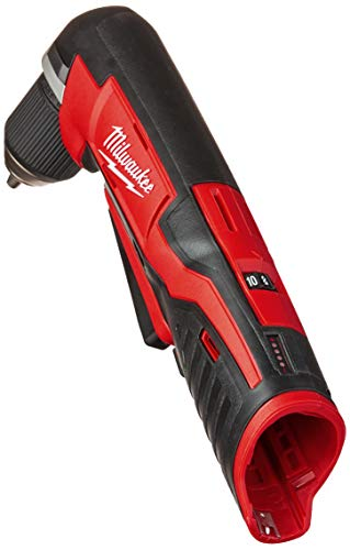 MILWAUKEE'S 2415-20 M12 12-Volt Lithium-Ion Cordless Right Angle Drill, 3/4 In, Bare Tool, Medium