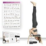 Restrial Life Sedia Yoga Inversion - Sedia di Inversione per Famiglia, Palestra - Cuscinetti in Legno e PU - Allevia la Fatica e costruisci Il Corpo