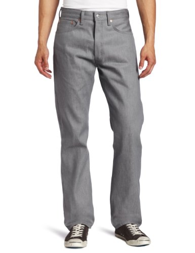 Levi's Men's 501 Original Fit Jeans, Gray (Silver Rigid 1403), 36W / 36L
