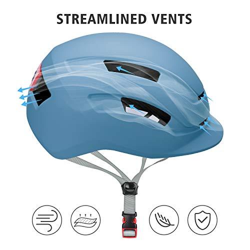 SLANIGIRO Adult-Youth Urban Bike Helmet - Adjustable Fit System