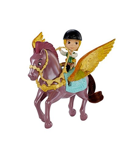Disney – Princesse Sofia – Prince James et Echo – Mini Figurine + Cheval Ailé