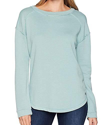 Jag Jeans Women's Belle Sweatshirt, Blue Jade, X