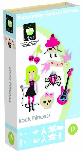 Cricut Cartridge Rock Princess Shapes