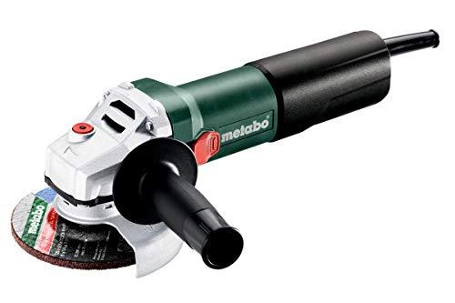 Metabo 600347000 Winkelschleifer WEQ 1400-125 Schleifscheiben Ø 125 mm, 1400 W, Spindelgewinde M14, Überlastschutz, Werkzeug-Schnellwechsel-Funktion