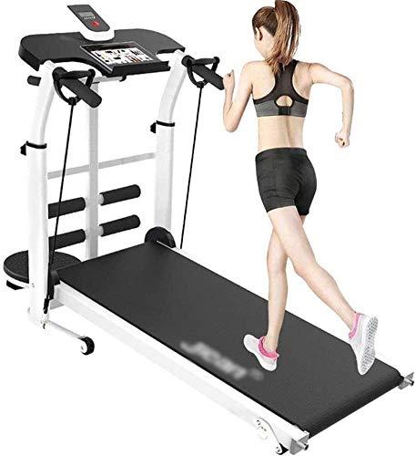 Cinta de correr portátil plegable no eléctrica motorizada para correr con máquina...