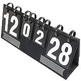 MAATCHH Tabellone Segnapunti Arbitro di Rotazione del Punto di Rotazione a 6 cifre Forniture per Il punteggio del Dispositivo di Calcio del Dispositivo di Calcio Pallacanestro