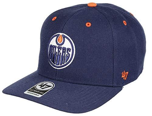 47 Brand Adjustable Cap - Audible Edmonton Oilers Hell Navy
