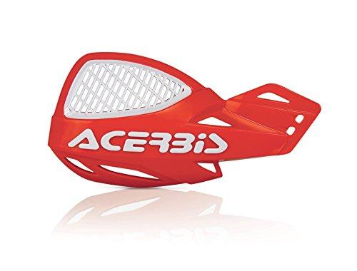 Acerbis 9846.01 Vented Uniko - Protectores de mano, color rojo