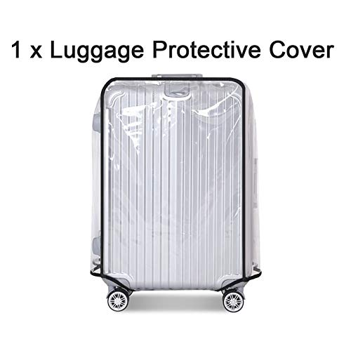 Purchase Rodalind Dustproof Luggage Protective Cover Transparent PVC Travel Luggage Cover