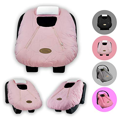 Cozy Cover Infant Car Seat Cover (Pink Quilt) - The Industry...