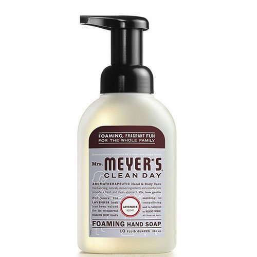 Foaming Hand Soap, Lavender 10 Oz by Mrs Meyers (Pack of 2)