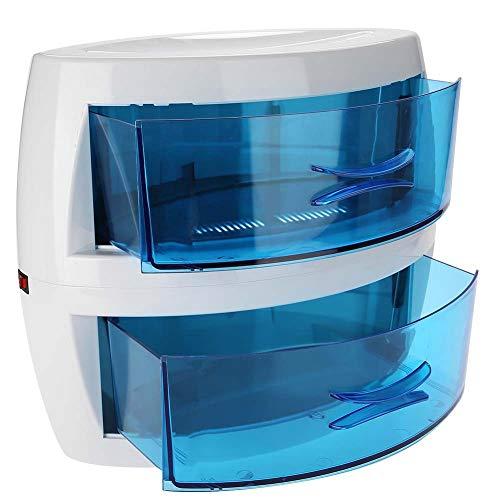 Qkiss Esterilizador UV Profesional de Doble Capa, Esterilizador de Desinfección por Ozono...