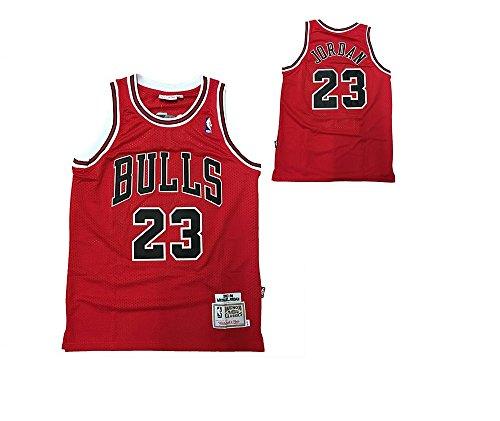 NBA Camiseta Retro Vintage - Michael Jordan - Chicago Bulls - Talla L