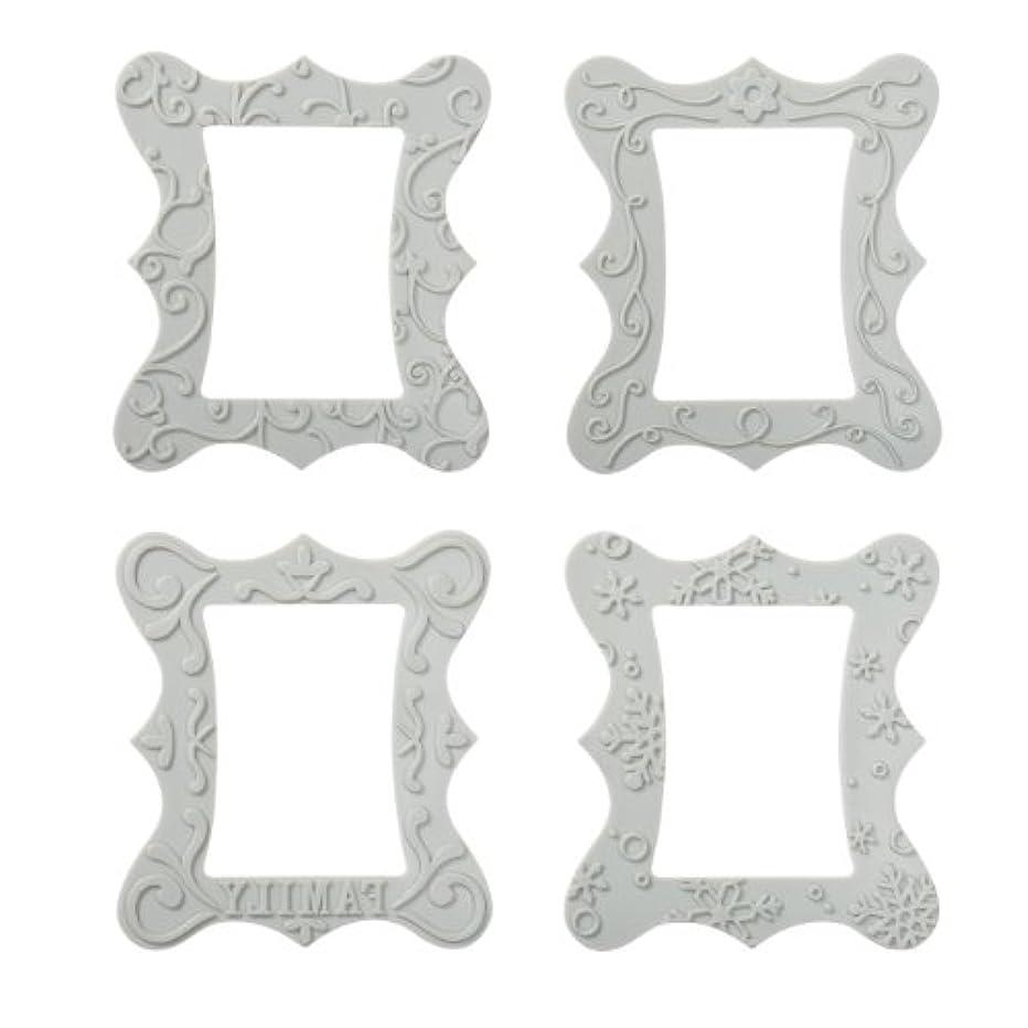 Fiskars 100970-1001 Frame Design Plate Expansion Pack, Medium, 4-Pack