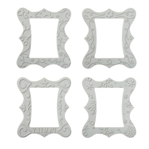 Fiskars Frame Design Plate Expansion Pack, Medium, 4-Pack