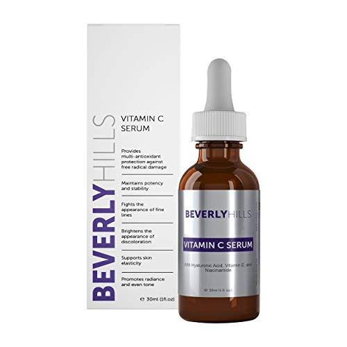 Beverly Hills Vitamin C Serum with Hyaluronic Acid, Vitamin E, and Niacinamide 30mL