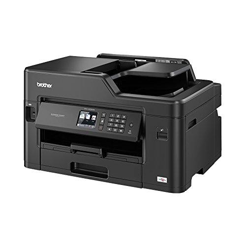 Brother MFC-J5335DW 4-in-1 Farbtintenstrahl-Multifunktionsgerät (Drucker, scanner, kopiereren, faxen, 35 Sieten/Min.) schwarz
