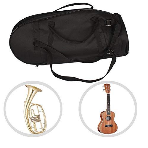 huaqiang194 Bariton Ukulele Gig Bag Gitarreninstrumentenpaket Gepolsterte weiche Tragetasche Großer Oxford-Rucksack für Uke Ukelele
